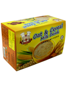 天然麦芽与麦片牛奶饮品(大盒)